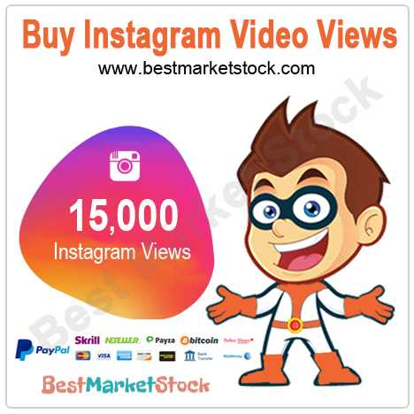 15000 Instagram Video Views
