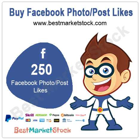 250 Facebook Photo Post Likes