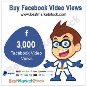 3000 Facebook Video Views