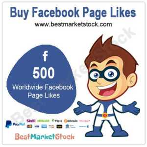 500 Worldwide Facebook Fan Page Likes