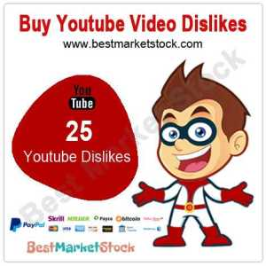 25 Youtube Dislikes