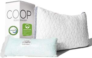 Coop Home Goods Eden Adjustable Shredded Gel Memory Foam