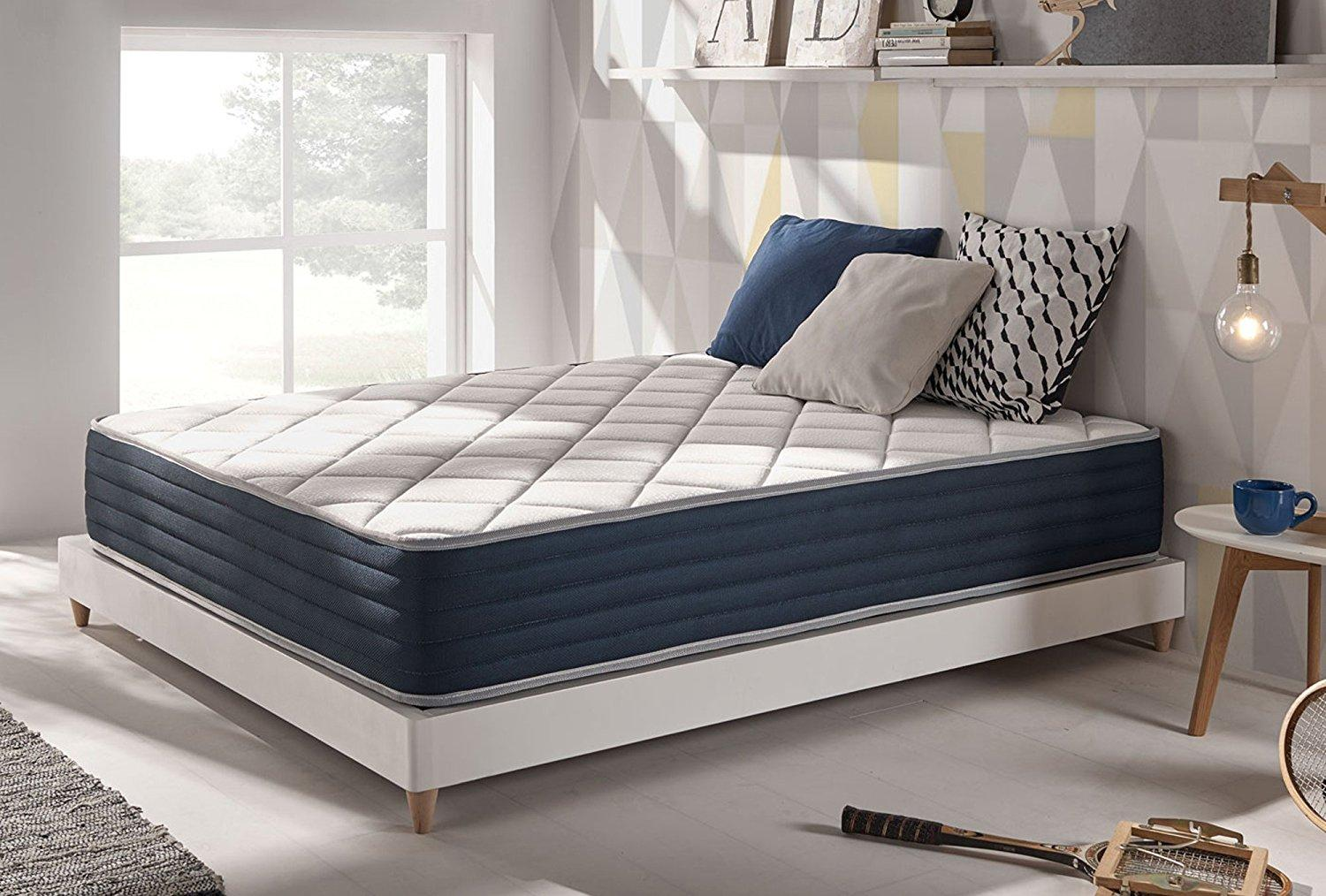 Naturalex RoyalVisco Blue Latex Memory Foam Double Sided Mattress