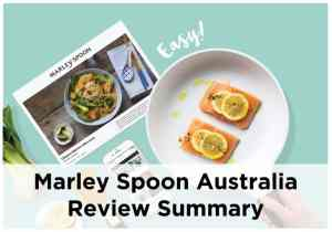Marley Spoon Australia Review