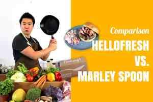 HelloFresh vs Marley Spoon