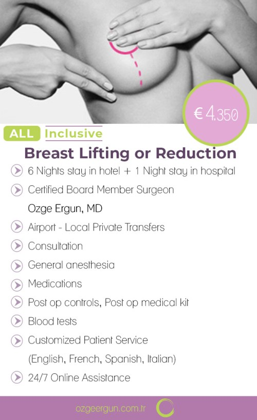 Breast Lift or Reduction Surgery