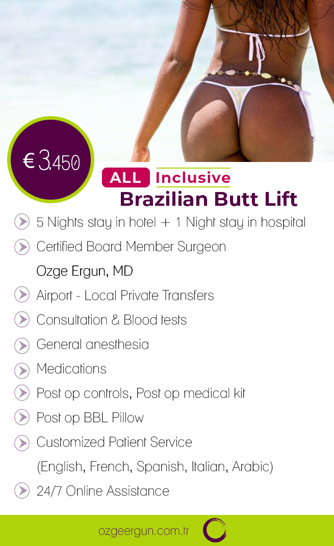 Brazilian Butt Lift Package