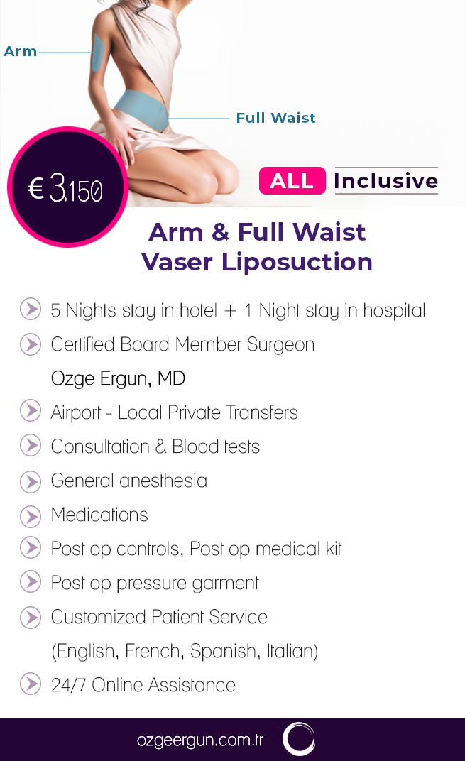 Vaser Liposuction & Arm Liposuction All Inclusive Package
