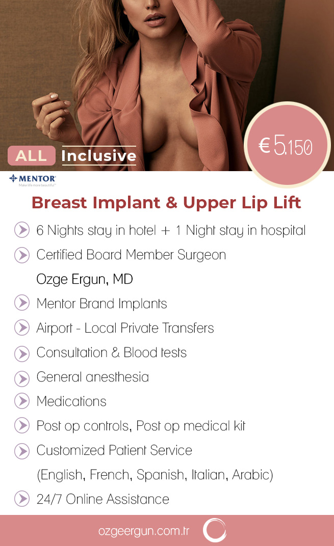 Breast Implant & Upper Lip Lift