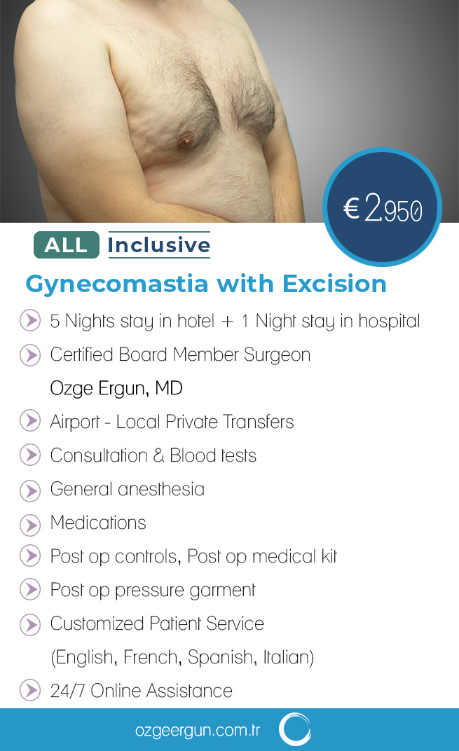 Gynecomastia Excision All Inclusive