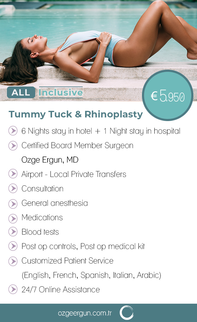Tummy Tuck Rhinoplasty All Inclusive Package