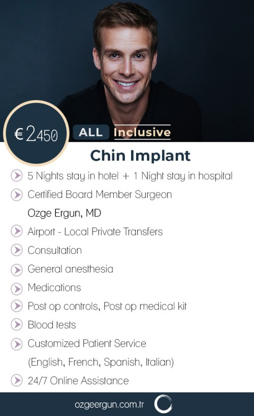 Chin Implant Man All Inclusive Package
