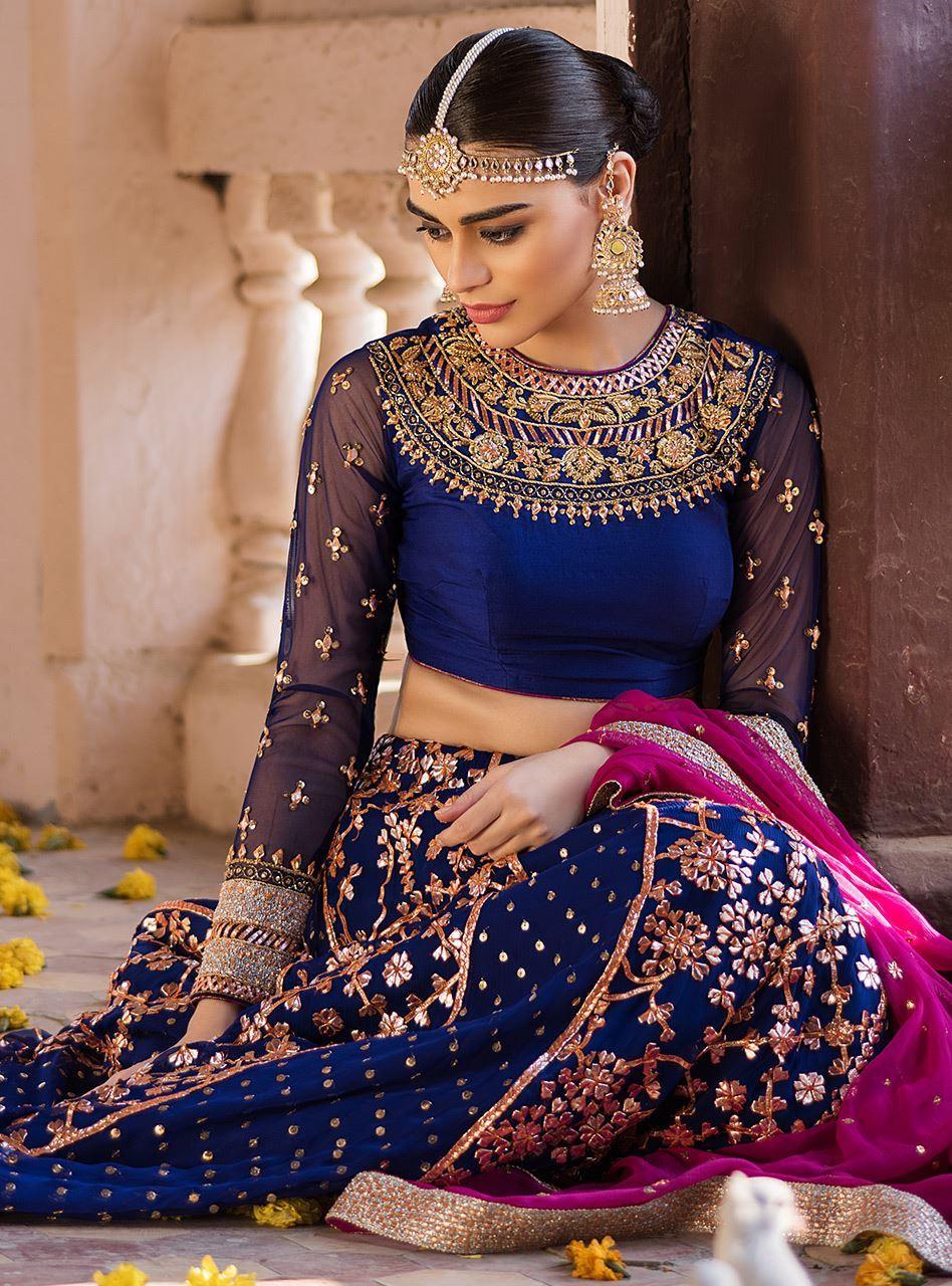 Bridal Mehndi Dress by Zainab Chottani