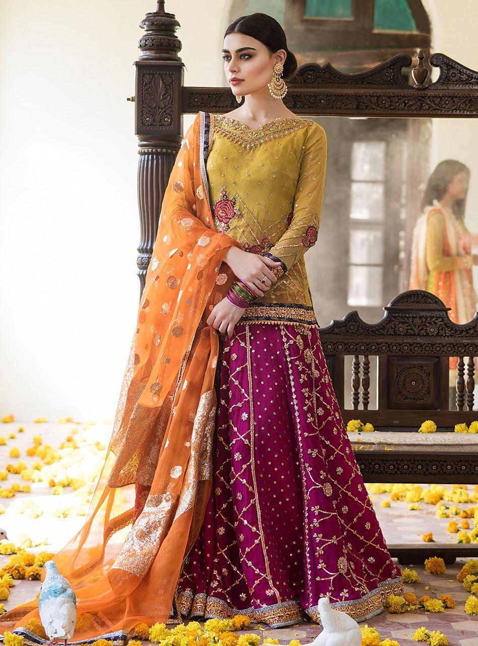 Sadaf Kanwal features Zainab Chottani Bridal Collection