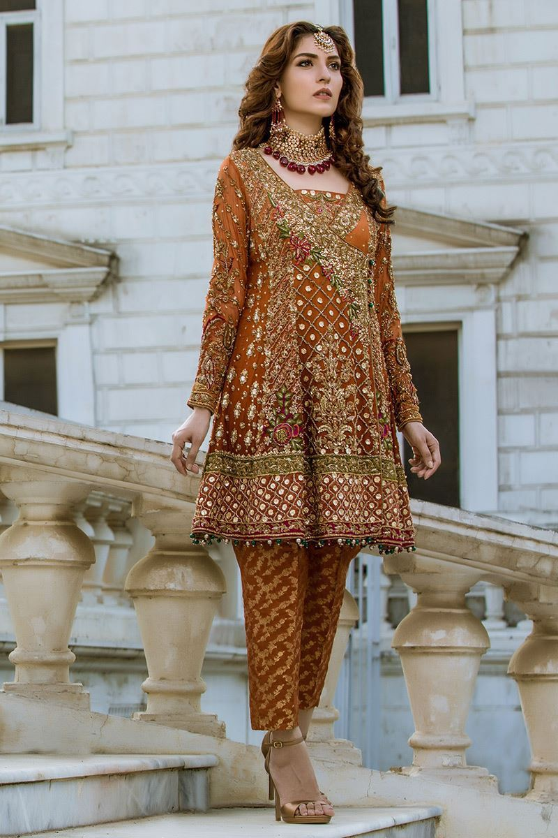 Angrakha Mehndi Outfit for Bride's Sisters