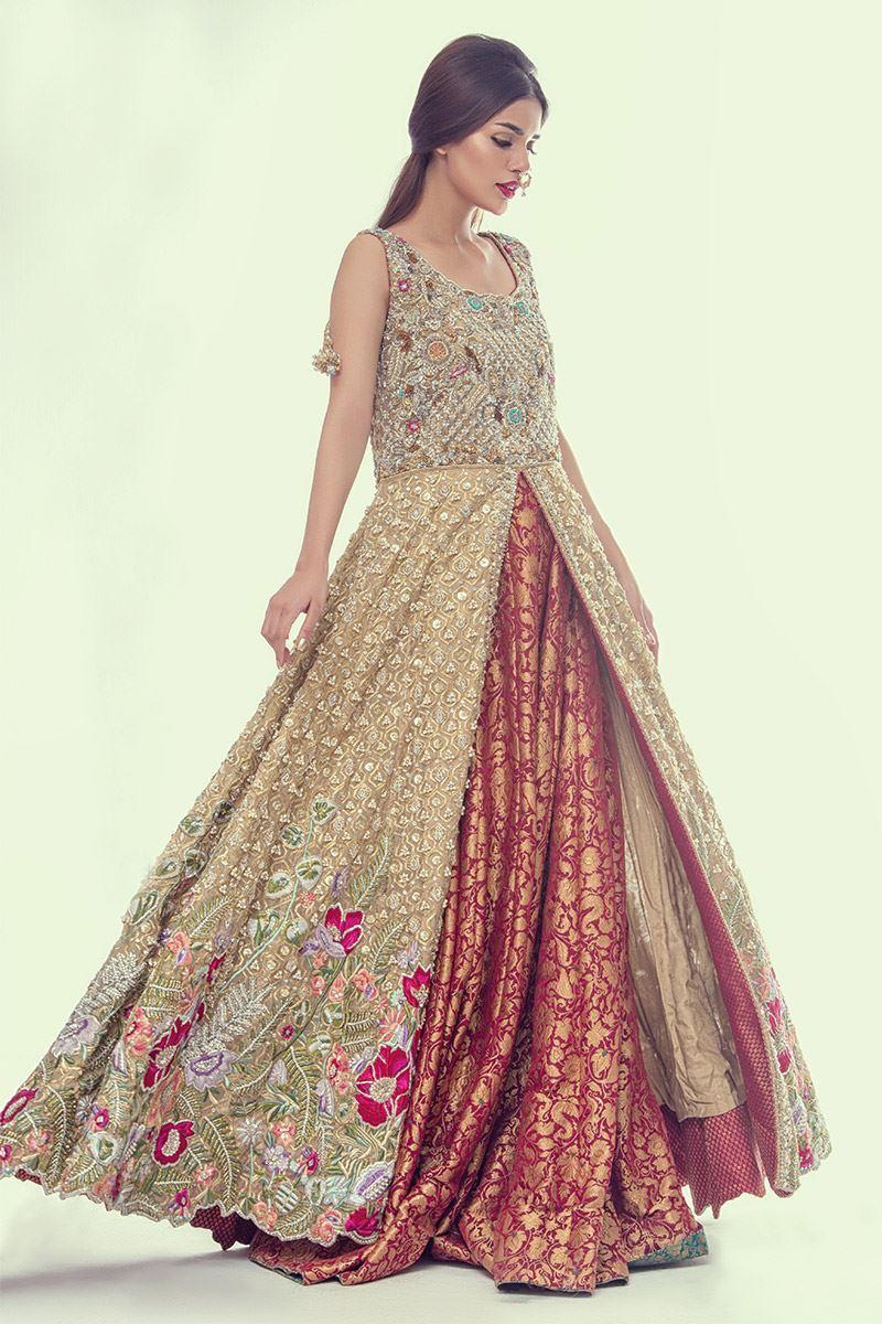 Mehndi Gown by Annus Abrar