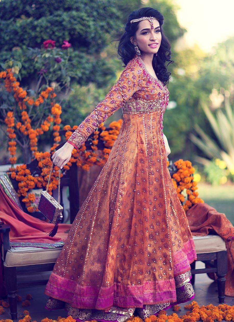 Anarkali Suit by Farah Talib Aziz