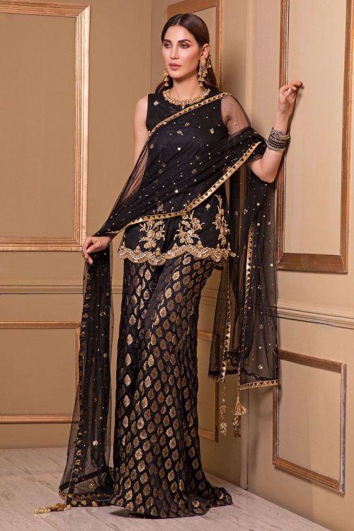 Modern Mehndi Dress for Bridesmaids