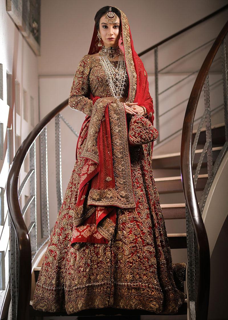 HSY Designer Pakistani Wedding Dress