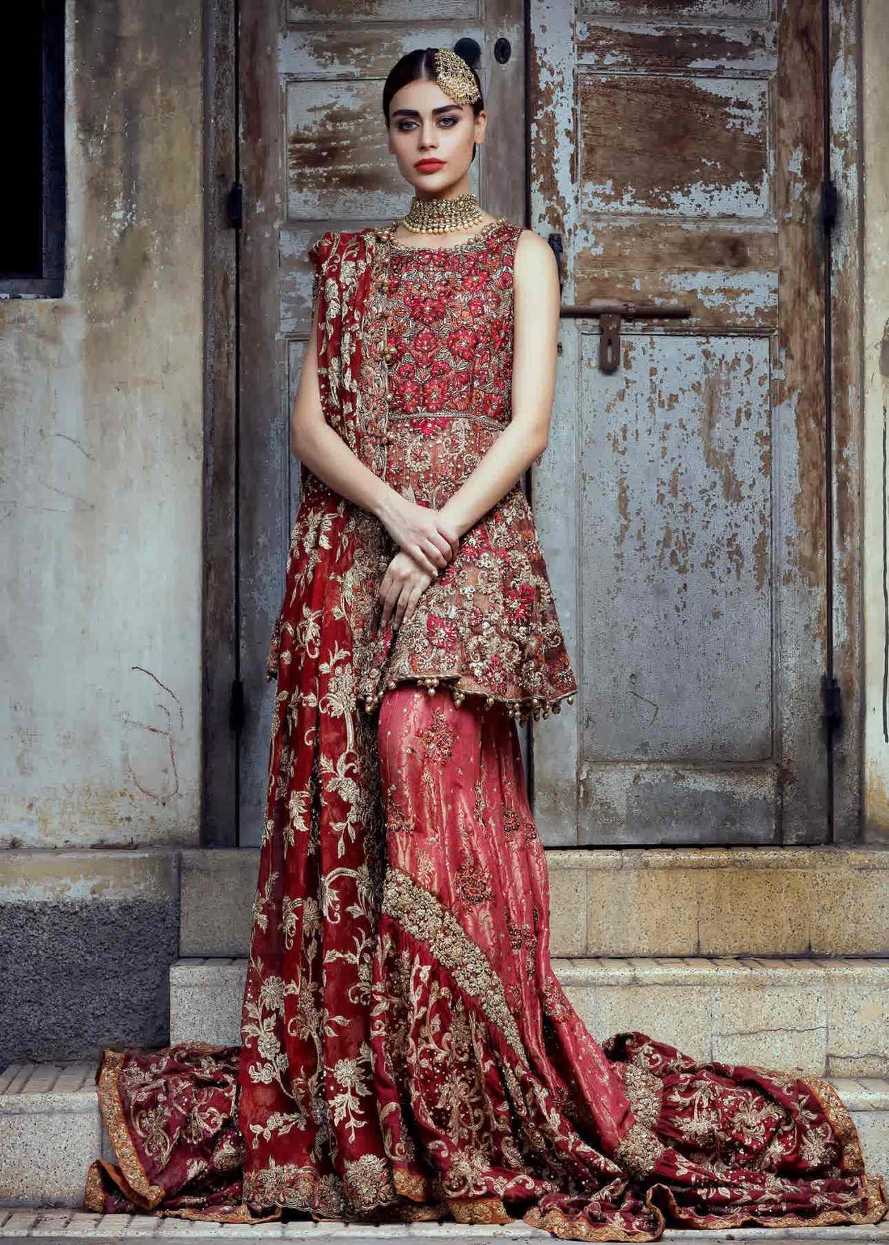 Umsha by Uzma BabarDesigner Pakistani Wedding Dress