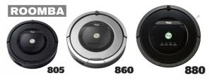 Roomba 805 vs. 880 vs. 860 Reviews and Comparisons