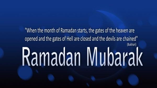 Ramadan 2017 Mubarik