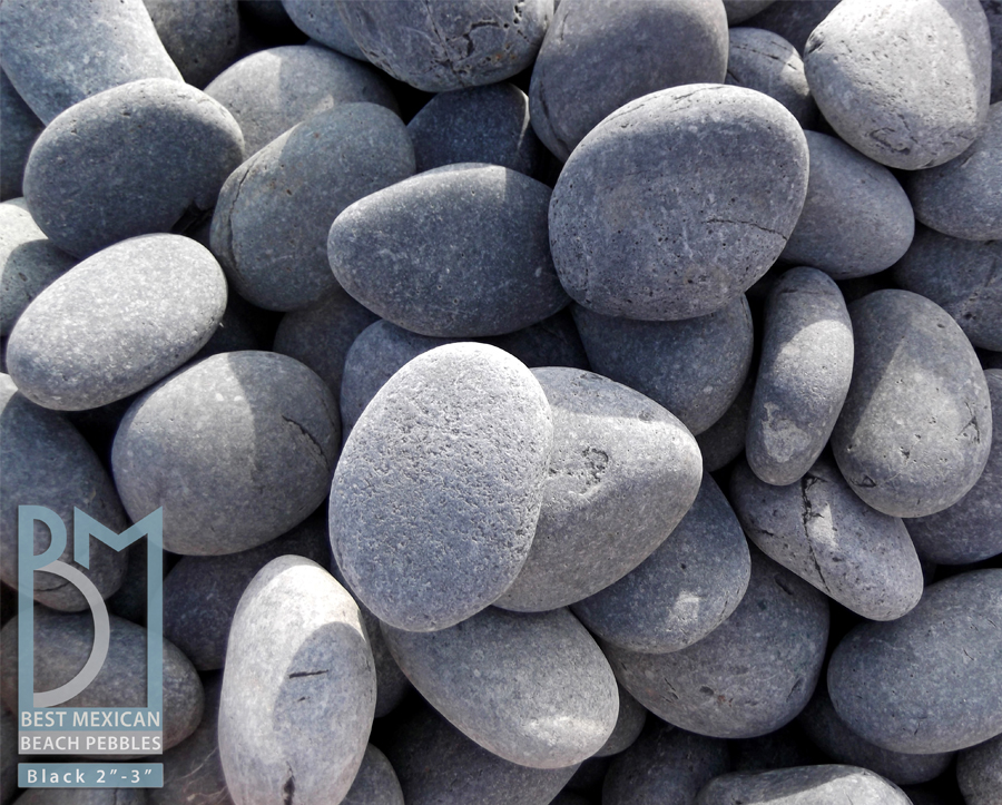 Polished Pebbles Landscape