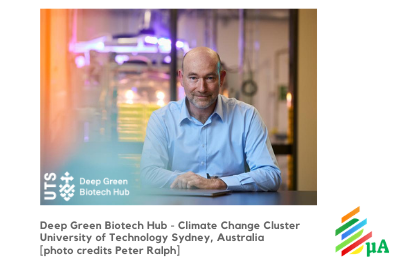 EXPERT INTERVIEW: Peter Ralph from the Deep Green Biotech Hub on microalgae innovation in Australia, putting extremophiles to good use, and how pivoting industries such as petro-plastics to bio-plastics can help mitigate climate change.