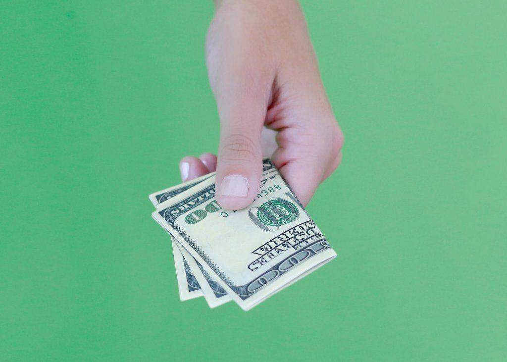 Die Cut Money Cards
