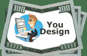 Design Your Own Money Drop Card