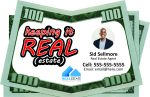 Real Estate Ideas -- Drop Cards for Real Estate Agents -- Keeping It REAL Estate