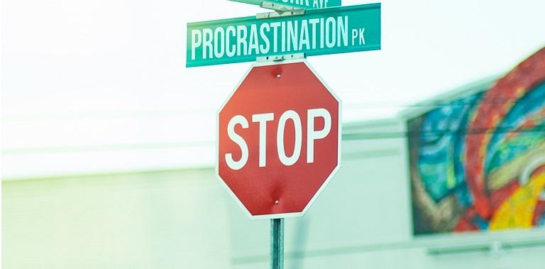 One Thing I Always Procrastinate On