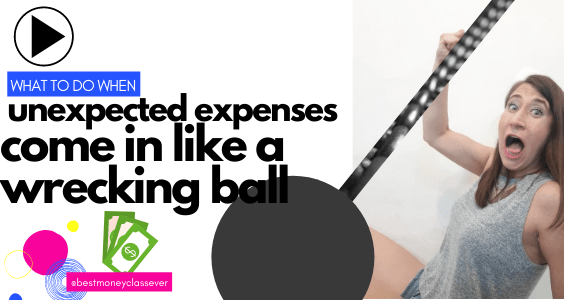 pay for unexpected expenses