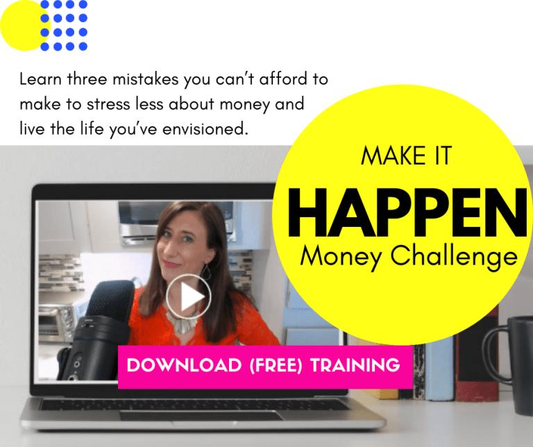 Make it happen money challenge