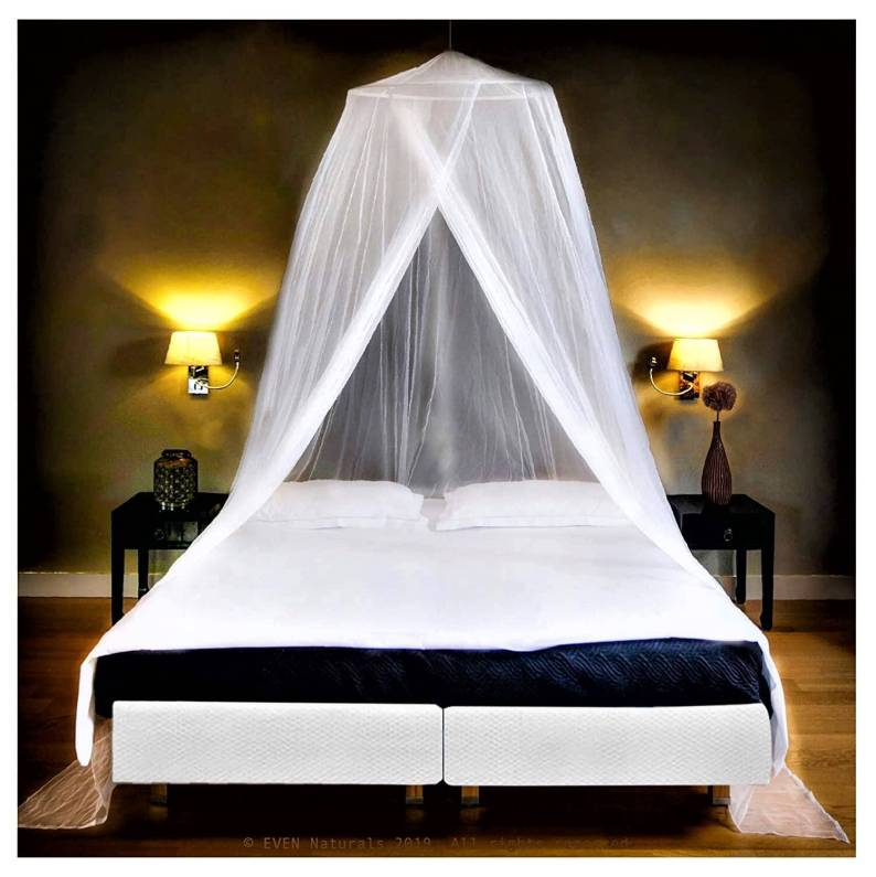 The Mosquito Net for Double Bed Canopy
