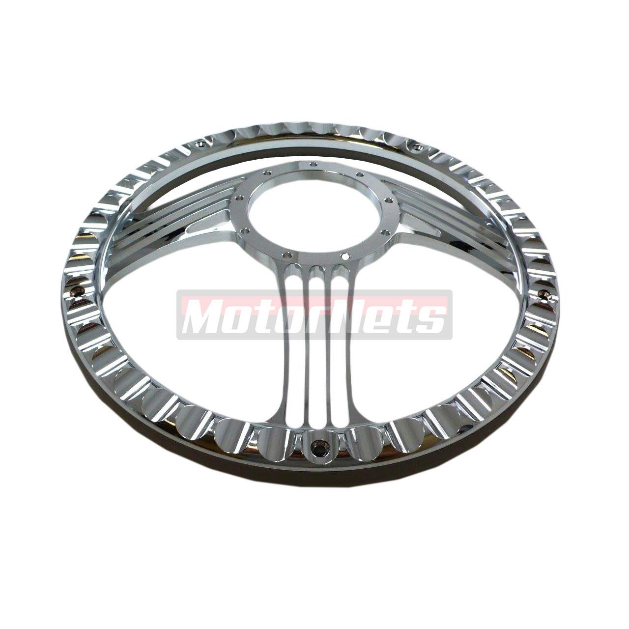 Gray Leather Slash Chevy Gm Pontiac Aluminum Steering