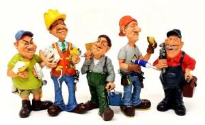 figures of workers