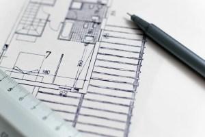 Floor plan of a building