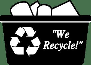 we recycle basket