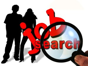 Image of a job search