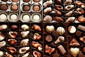 A chocolate box
