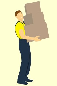 Professional mover hired to avoid the loss of business