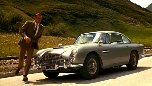 1964 Quot Goldfinger Quot 1963 Aston Martin Db5 Best Movie Cars