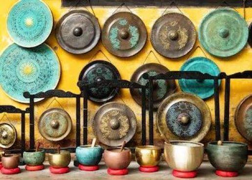 antique singing bowl for sale