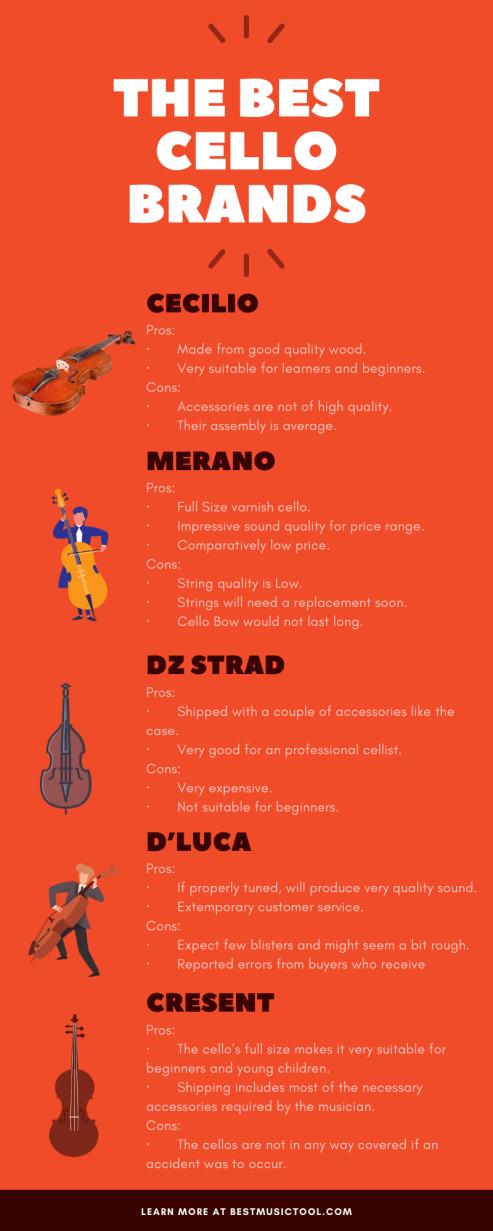 Best Cello Brands