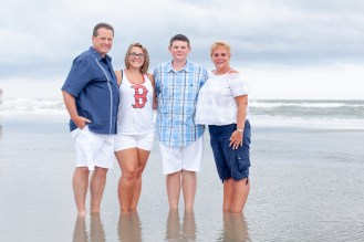 This is what family beach portraits looks like in Myrtle Beach, SC