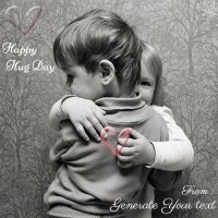 hug day cute images