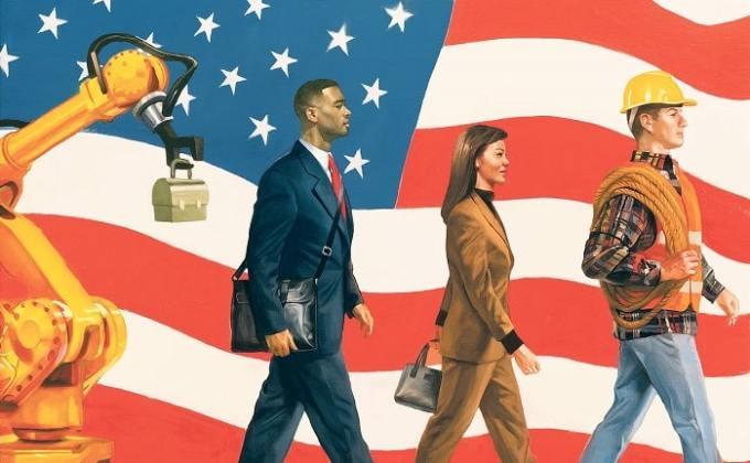 is the american dream still alive us economy job market wall street