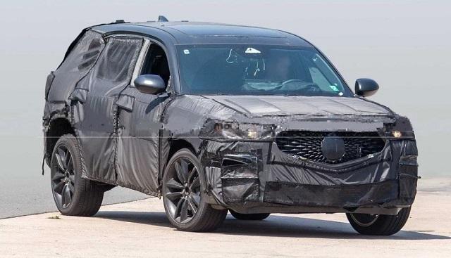 2022 Acura RDX spy shots