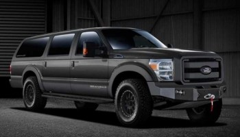 2022 Ford Excursion front view